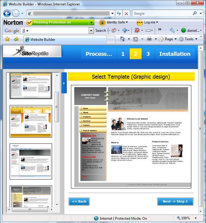 Free Website Builder 000space
